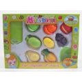 Ensemble de jeu de cuisine de couper des aliments et des jouets de légumes pour les enfants