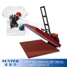 80 * 100 Venta Caliente Digital Camiseta Calor Prensa Máquina de Transferencia