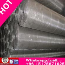 Alta calidad y bajo precio de acero inoxidable Wiremesh / Crimpado Wiremesh Factory China