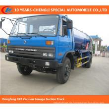 Dongfeng 4X2 Vakuum-Abwasser-Saugwagen