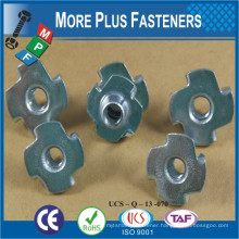 T Nut Galvanized Carbon Steel T Nut with Zinc Palted T-NUT
