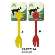 Colher do tombadilho do cão, produto do animal de estimação (YE-26194)