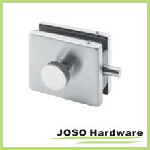 Mab estilo de cristal puerta de bloqueo de parche de ajuste latón PT122m mango