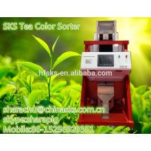Máquina de separación del color del té para la hoja negra del té
