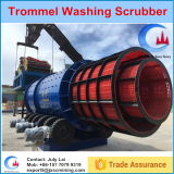 Chrome mining machine trommel washing machinery rotary scrubber for sale