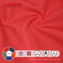 antiestático do retardador de fogo da tela do aramid para o coverall da indústria do petróleo e gás