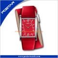 Virtecal Watch Unisex Fashion Watch with Double Wrapped Leather Strap