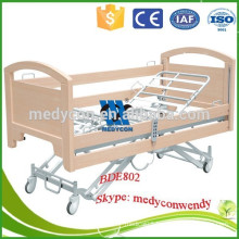 MDF headboard & guardrail five functions electric medical beds