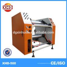 Máquina de rebobinado de película de estiramiento de rollos en rollo pequeño