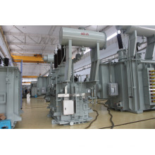 Subestación 132kv con regulador de tensión s