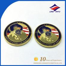 Prix à bas prix Monnaies fausses en or Monnaies commémoratives personnalisées