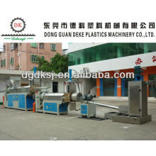 Waste HDPE LDPE Plastic Recycle Machine DKSJ-140A/125