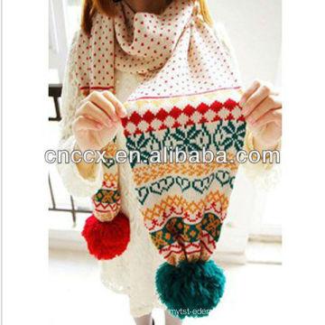 PK17ST332 latest design lady winter scarf