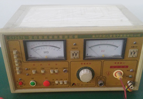 Insulation withstand voltage measuring instrument