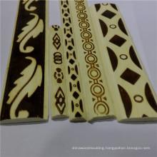 india embossed engineered /solid wood moulding