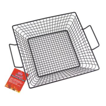 Решетчатая верхняя корзина для гриля с антипригарным покрытием