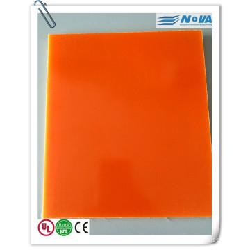 Folha de laminado colorido G10 para modelo RC