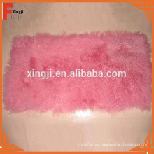 teñido de tiro de piel de cordero de Mongolia