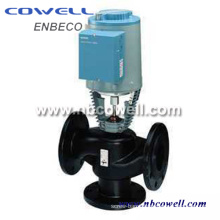 Double Flanged Control Valve with Low Price
