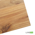 Tablero de madera de acacia de madera maciza color natural