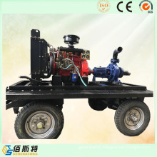Trailer Poratble Diesel Engine Self-Priming Water Pump Set