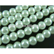 glass pearl for earring,pearl necklace design