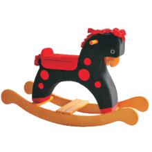 Factory Supply Rocking Horse-Black avec Red DOT