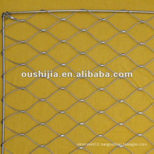 Heavy-duty zoo mesh knitted