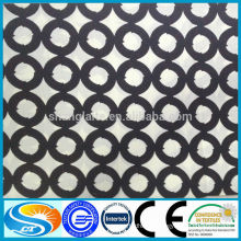 customer printing 100%cotton wax fabric high quality OEM service