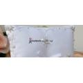 2016 Chic Bridal Wedding Supply Simple Beaded Petals Ring Bearer Pillow