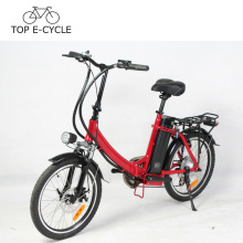 Bicicleta eléctrica del ciclo superior E Bicicleta plegable eléctrica del motor potente eléctrico plegable Ebike 36V 300W de 20 pulgadas