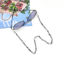 2020 2021 Korea japan trendy short small hoop linked anti lost acrylic acetate kid face masking chain holder