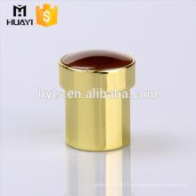 red top metal zamac gold bottle caps