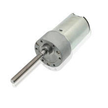 Motor de engranajes de bajo ruido con eje de tornillo