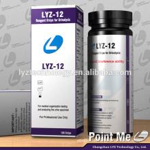 Laborgerätetest Drogentests 12 Parameter