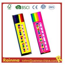 Crayon de pintura de corpo de arco-íris para presente de decoração