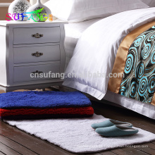 Esteira de banho do hotel / esteira de banho em mudança fina da cor do algodão