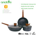 Wholesale Price Forged Nonstick 5pcs Cookware Set