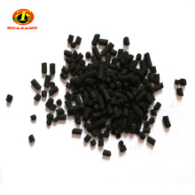 Coal activated carbon particles in waste water treatment