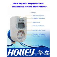 Medidor de água de tarifa pré-paga com cartão pré-pago sem fio IP68 Card Card (LXSIC-15CB-25CB)