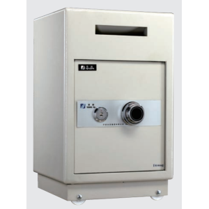 Manual lock depository safe
