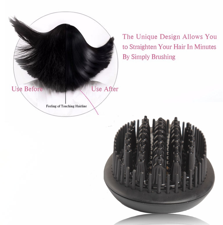 Hair Straightener Updated Brush