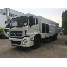 6x4 drive type 13 tons pavement cleaning truck