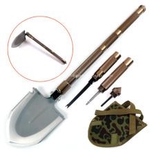 Große Überlebens-Militärschaufel mit Hackmesser