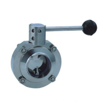 worm gear /turbine drive triple offset butterfly valve