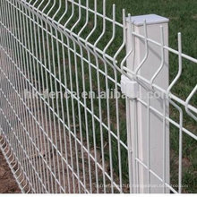 garde de sécurité anti-corrosive clôture de clôture soudée