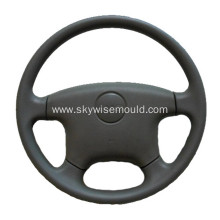 Injection molding for automotive steering wheel