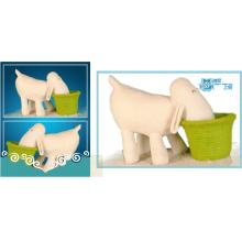 White Plush Hippo toys