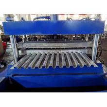 Máquina formadora de rolos de convés de piso de trem de alta precisão