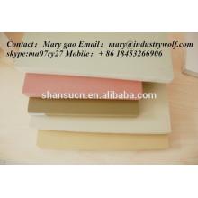 feuille de mousse de PVC de haute densité imprimée / panneau d'extrusion de pvc / planche à découper / fabricant de carte de circuit imprimé / feuille de uhmwpe /